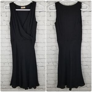 EMPORIO ARMANI | silk blend faux wrap dress